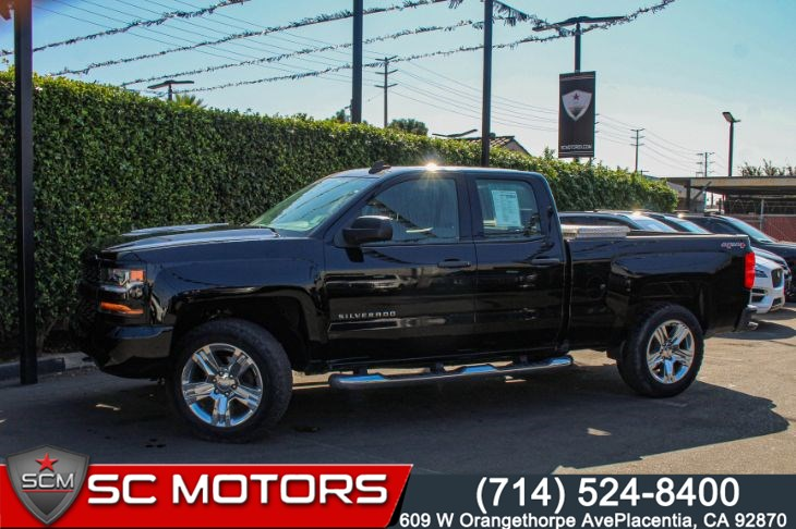 2017 Chevrolet Silverado 1500 Custom 4WD(TRAILERING PACKAGE & 7' TOUCH SCREEN)