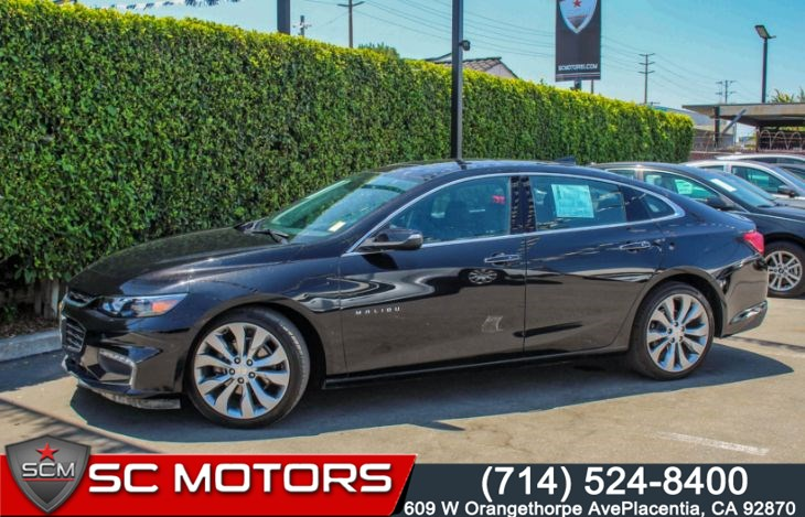 "2017 Chevrolet Malibu Premier W/2LZ(Power Sunroof & 19"" Aluminum Wheels)"