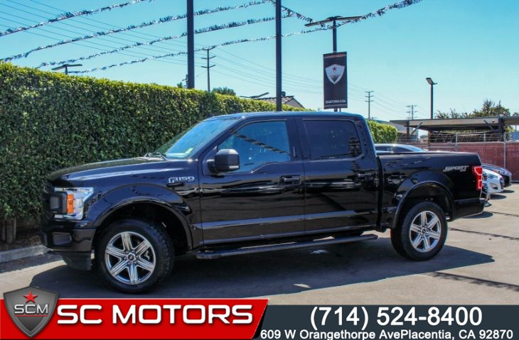 2018 Ford F-150 XLT 4X4 (VOICE ACTIVATED NAVIGATION)