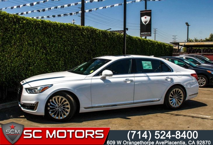 2017 Genesis G90 3.3T Premium(Heated/Cooled Seats & Navigation)