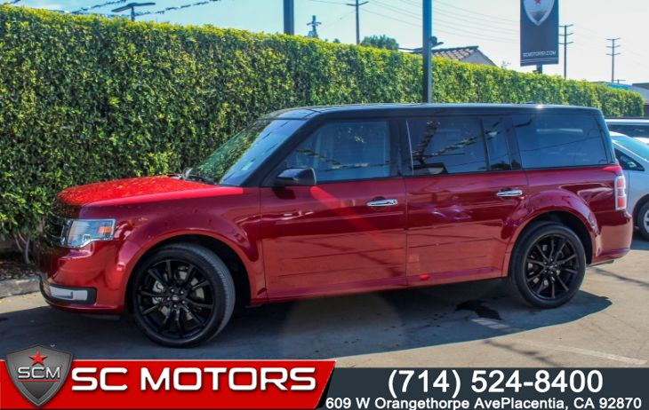 2017 Ford Flex SEL(THIRD ROW, LEATHER SEATS & VISTA ROOF)