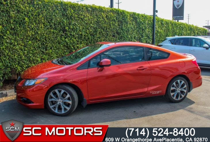 2012 Honda Civic Coupe Si(POWER SUNROOF & BLUETOOTH HANDSFREE)