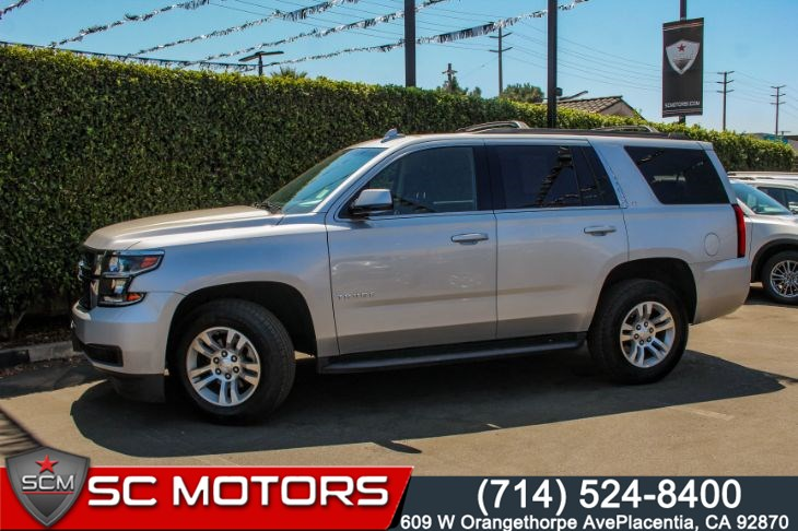 2016 Chevrolet Tahoe LT(THIRD ROW, MAX TRAILERING PACKAGE & NAVIGATION)