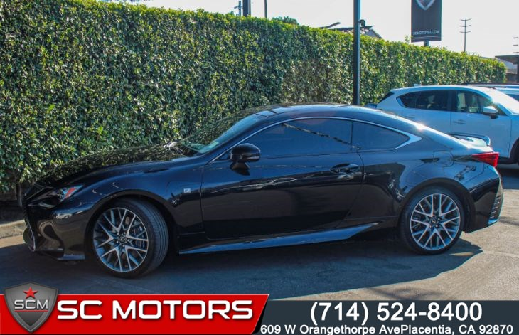 2015 Lexus RC 350 F SPORT(RIOJA RED LEATHER SEATS & MOONROOF)