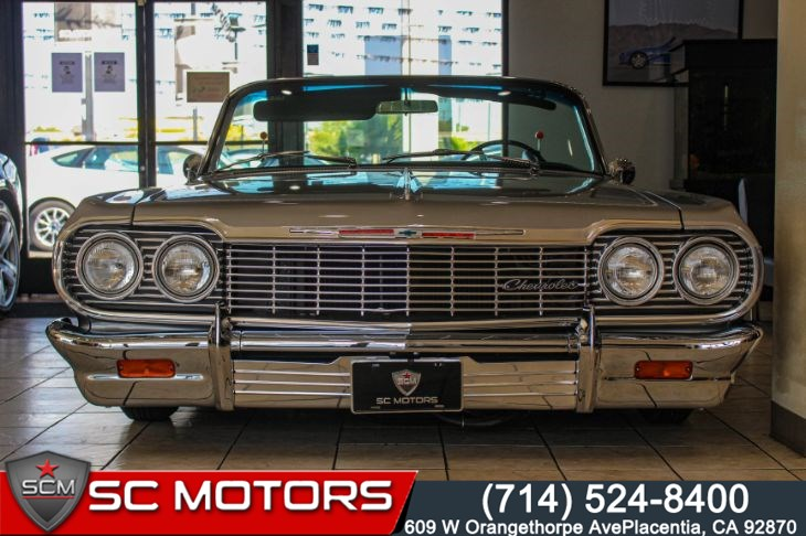 1964 Chevrolet Impala SS CONVERTIBLE (AIRLIFT SUSPENSION) APPT ONLY