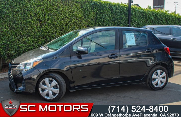 2015 Toyota Yaris 5-Door L (BLUETOOTH & POWER DOOR LOCKS)