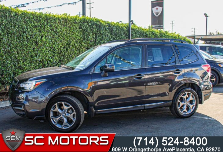 2018 Subaru Forester Touring(SADDLE BROWN LEATHER SEATS & SUNROOF)