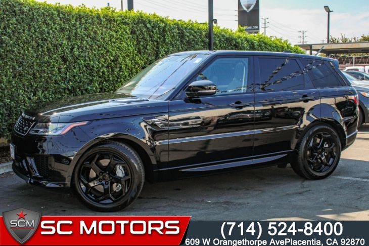 2020 Land Rover Range Rover Sport 3.0 SUPERCHARGED HSE 4WD(PANORAMA MOONROOF & NAVI)