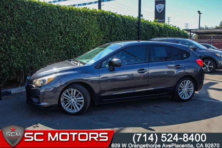 2012 Subaru Impreza Wagon 2.0i Premium (POWER MOONROOF & BLUETOOTH AUDIO)