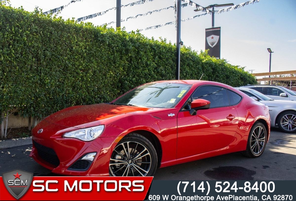 2013 Scion FR-S (BLUETOOTH, PADDLE SHIFTERS, SPORT,SNOW MODE)