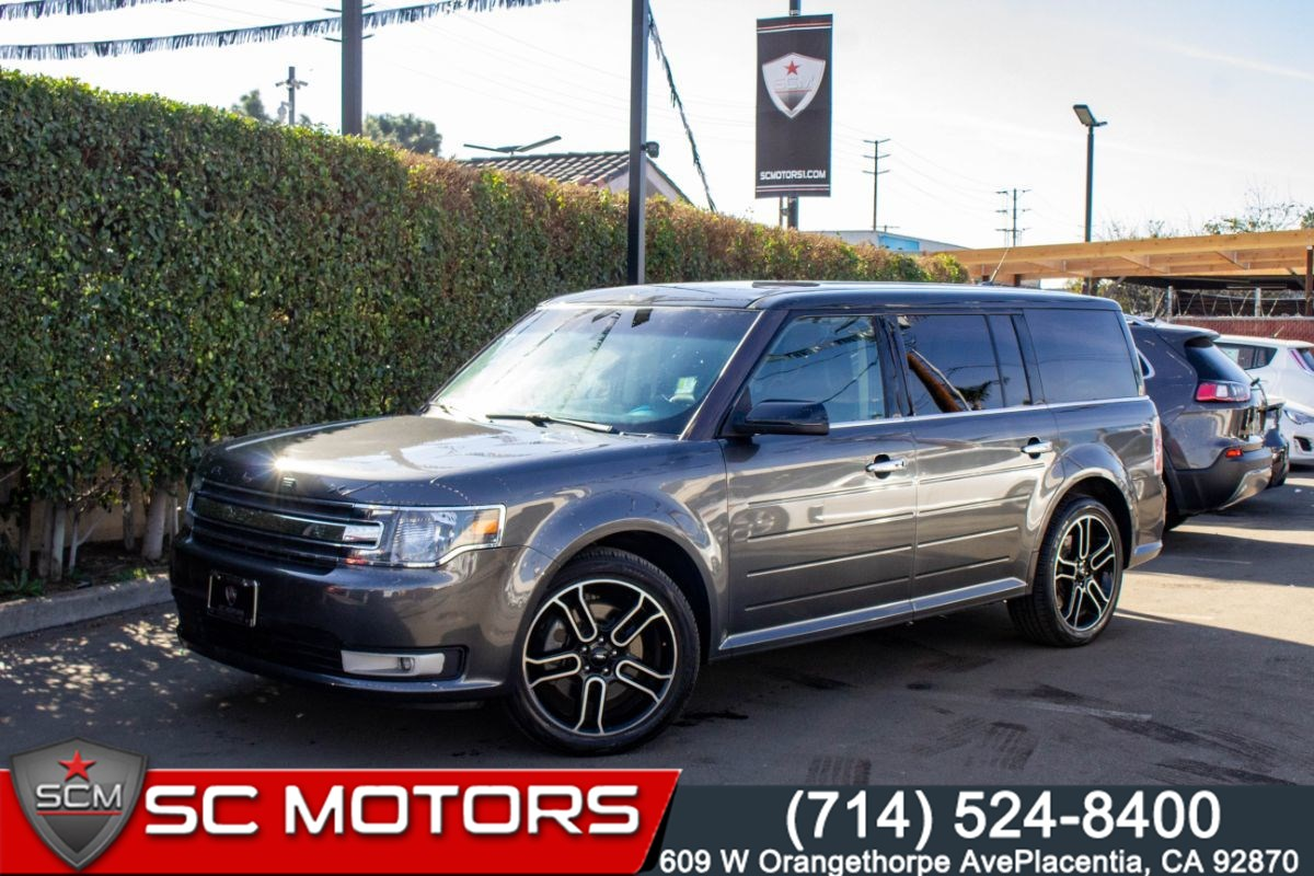 2015 Ford Flex SEL (3RD ROW SEATS, BACK UP CAMERA, BLUETOOTH)