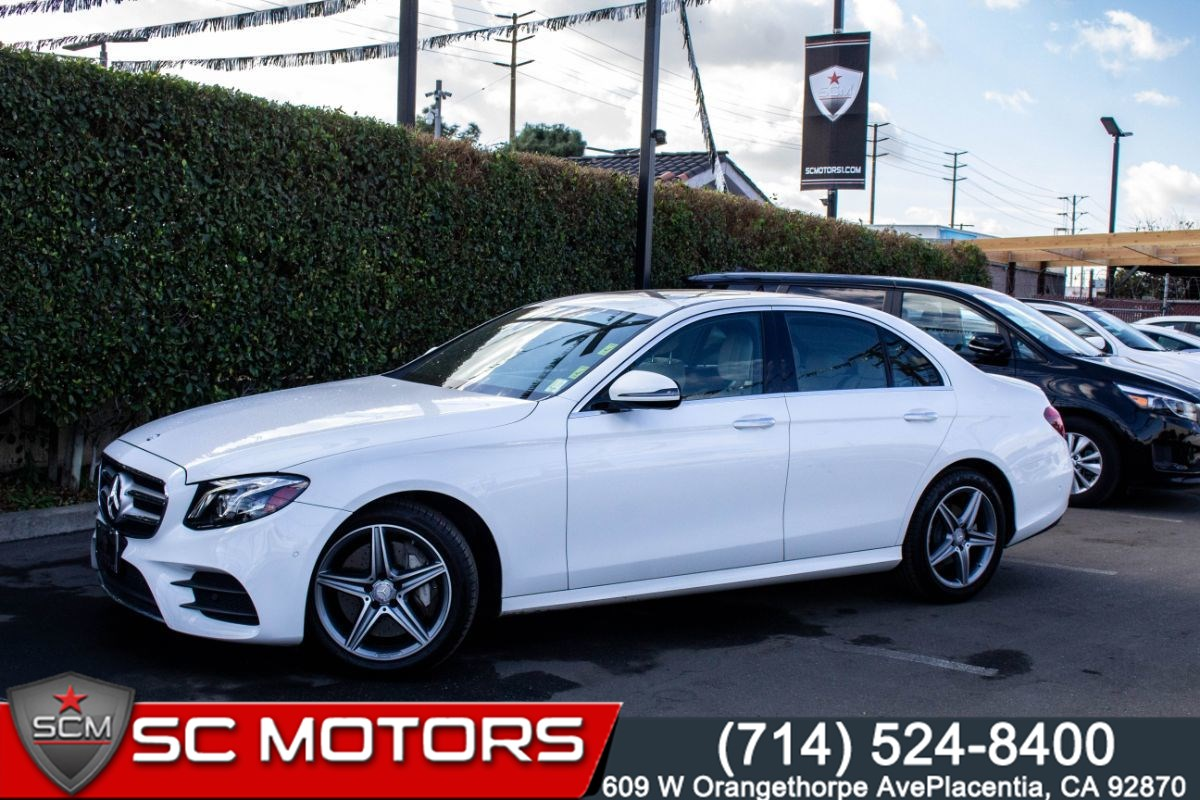 2017 Mercedes-Benz E 300 4MATIC (HEATED FRONT ROW SEATS & STEERING WHEEL)