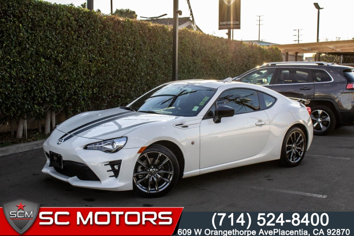Sold 2017 Toyota 86 860 Special Edition Heated Frontseats Backup Cam In Placentia