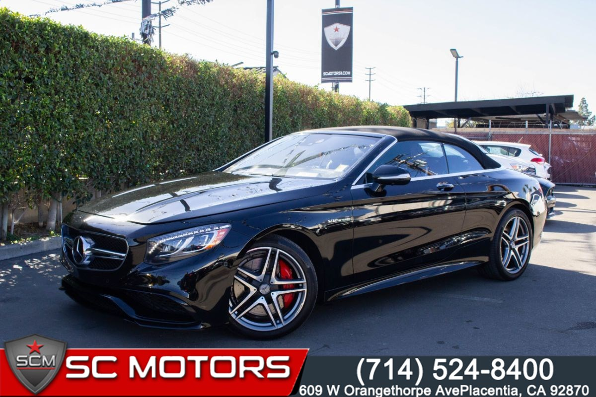 2017 Mercedes-Benz AMG S 65 (CONVERTIBLE, AMG NIGHT STYLING, PARKING ASSIST)