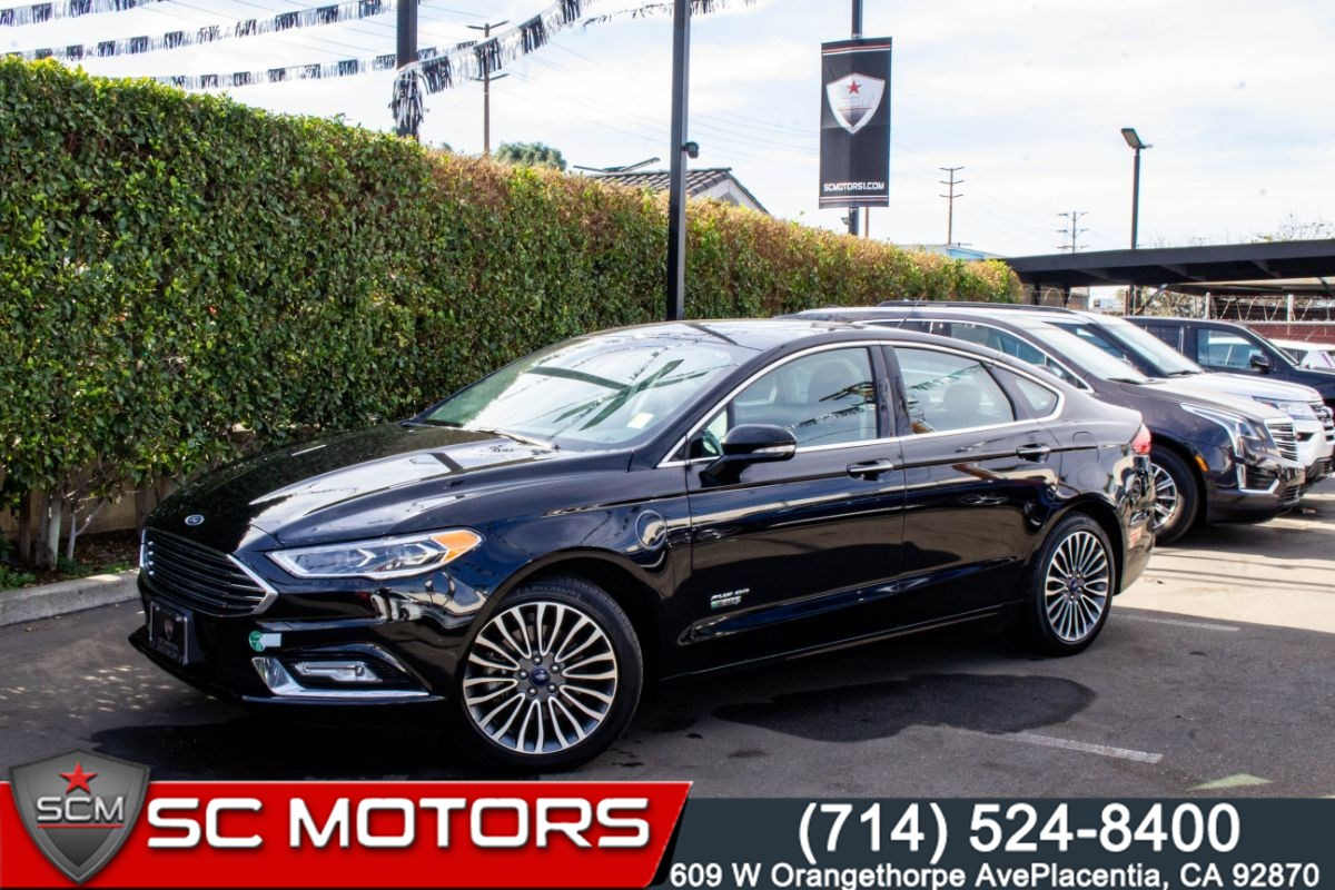 2017 Ford Fusion Energi SE Luxury( DRIVER ASSIST PACKAGE, PWR MOONROOF)