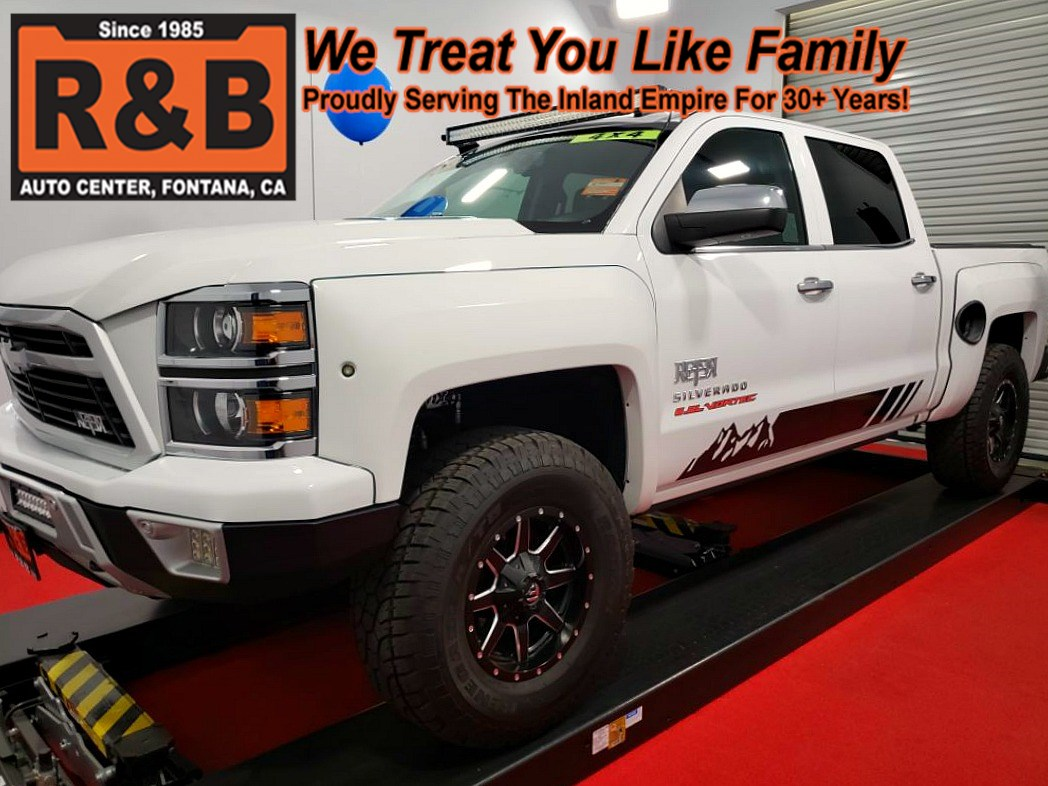 Used 2015 Chevrolet Silverado 1500 Lifted Custom Reaper 4x4 Z71 Ltz Chevy Radio Upgrade Featured