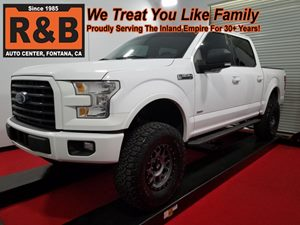 View 2015 Ford F-150 Lifted SuperCrew Cab