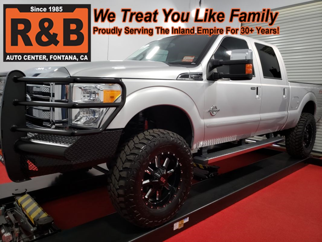 Used 2015 Ford Super Duty F 250 Lifted 4x4 Diesel Lariat In Fontana Trucks Featured