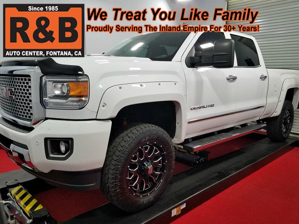 sold 2015 gmc sierra 2500hd denali lifted 4x4 diesel in fontana 2015 GMC 2500 Denali Show featured