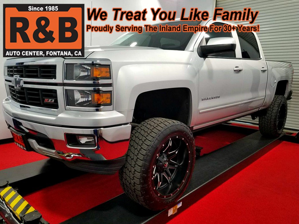 2015 Chevy Silverado Lifted >> 2015 Chevrolet Silverado 1500 Lt Lifted 4x4 R B Auto Center