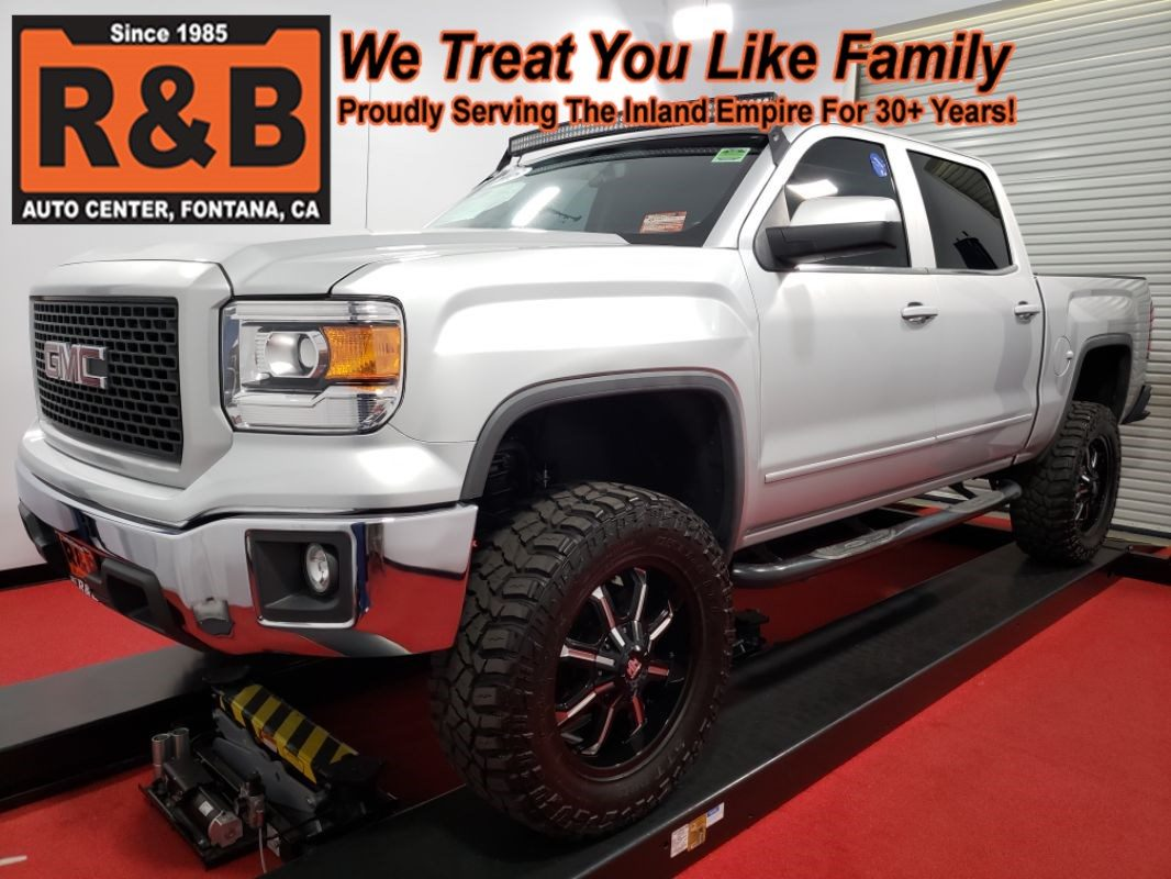 Sold 2015 Gmc Sierra 1500 Sle Lifted In Fontana