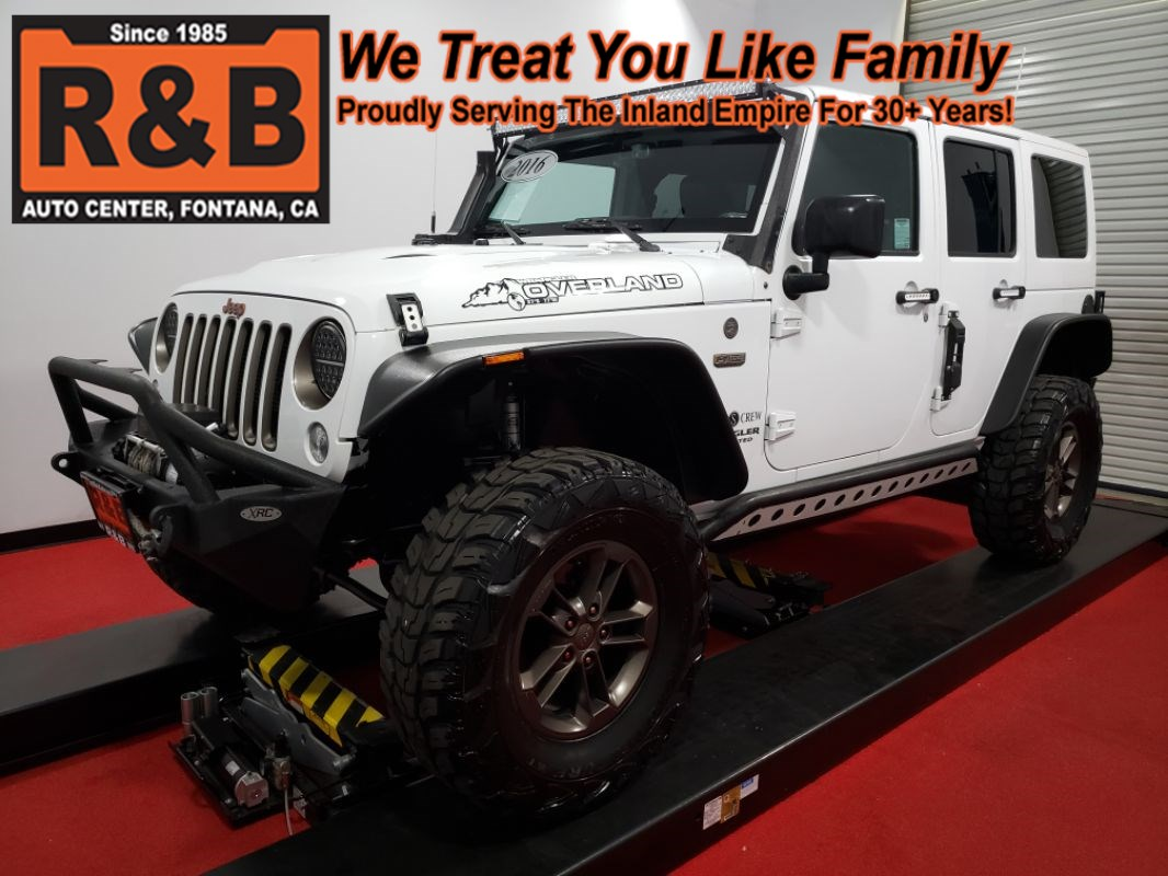2016 Jeep Wrangler Unlimited 4x4 75th Anniversary Overland