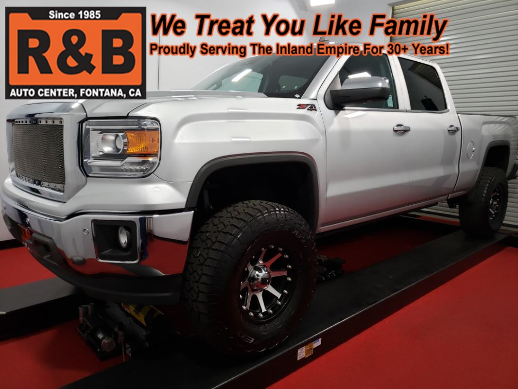 2014 GMC Sierra 1500 SLT Lifted 4x4