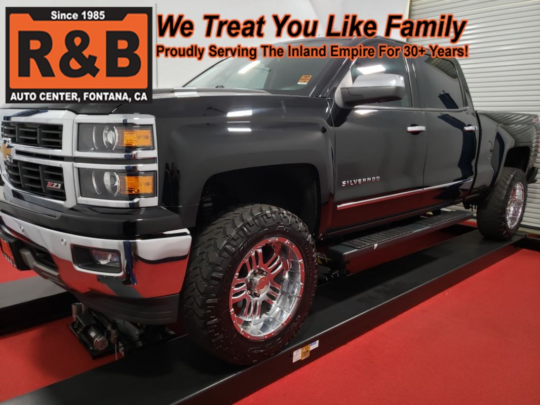 2014 Chevrolet Silverado 1500 LTZ 4x4 Lifted