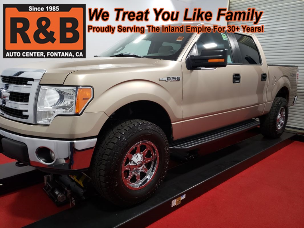 2014 Ford F-150 XLT 4x4 Lifted