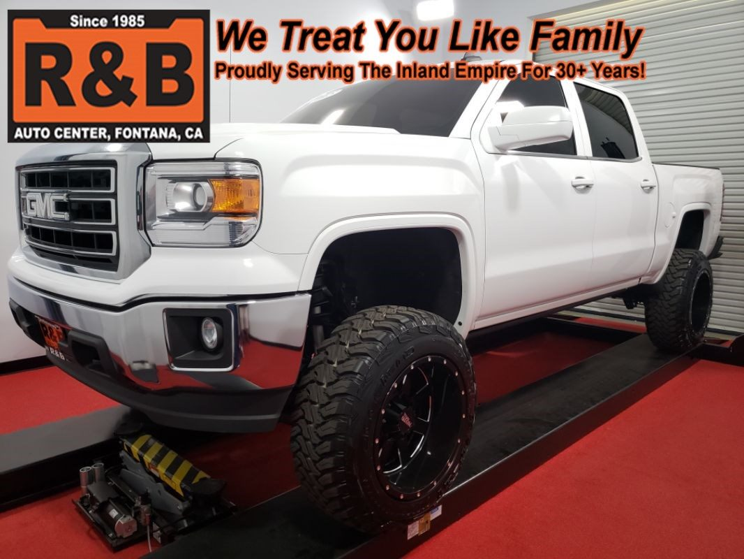 Sold 2015 Gmc Sierra 1500 Sle Lifted 4x4 In Fontana