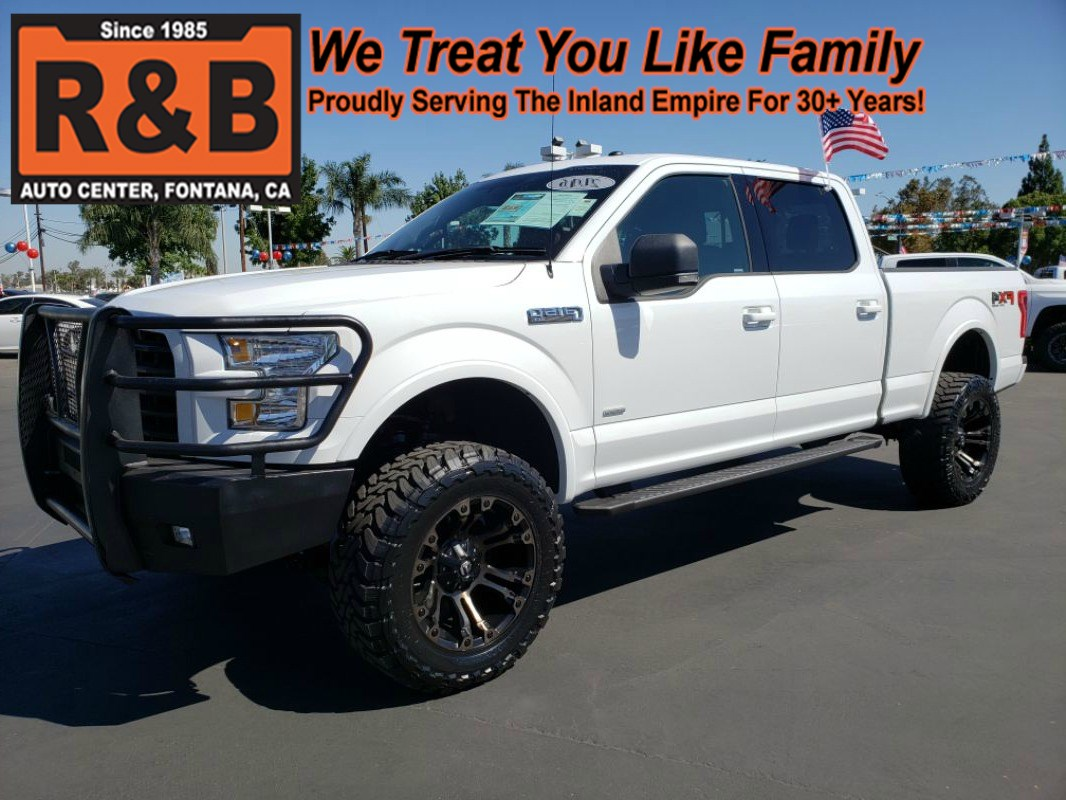 2016 Ford F150 Lifted >> Sold 2016 Ford F 150 Xlt Lifted 4x4 Ecoboost In Fontana