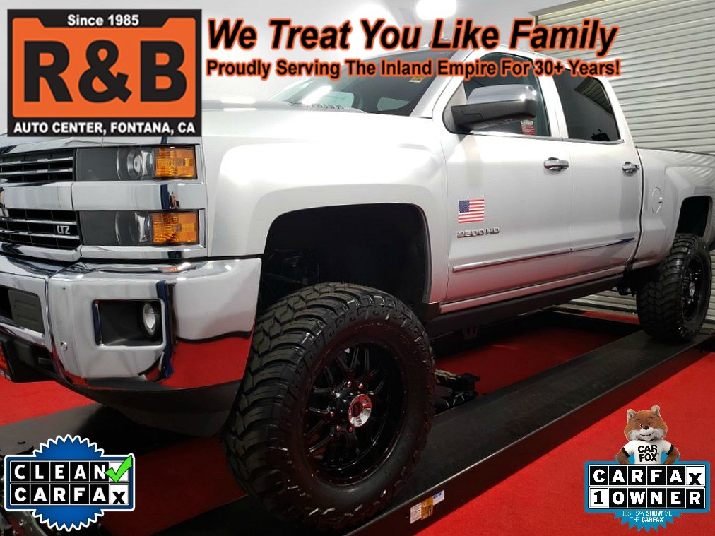 2016 Chevrolet Silverado 2500HD LTZ Lifted Diesel