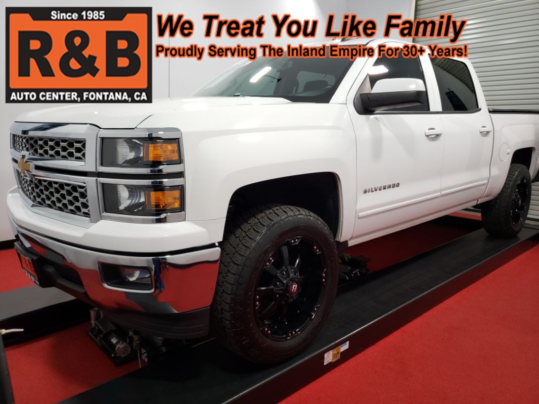 2015 Chevrolet Silverado 1500 LT Lifted