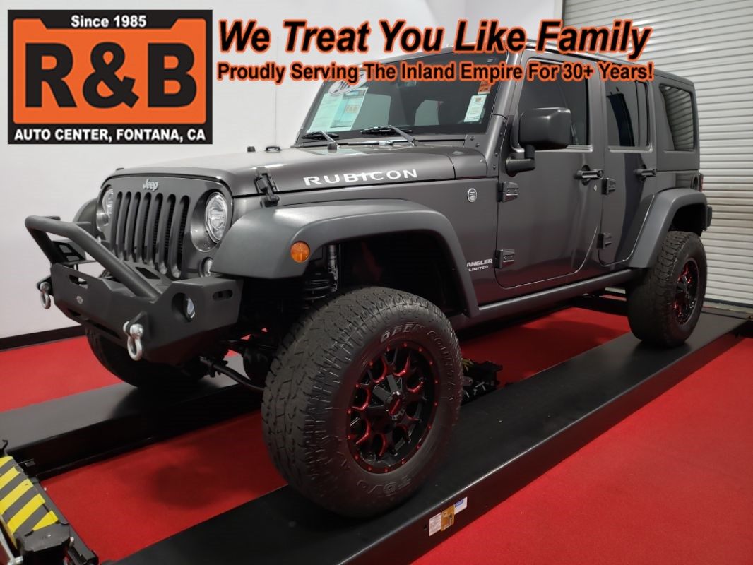 2017 Jeep Wrangler Unlimited Rubicon Lifted 4x4