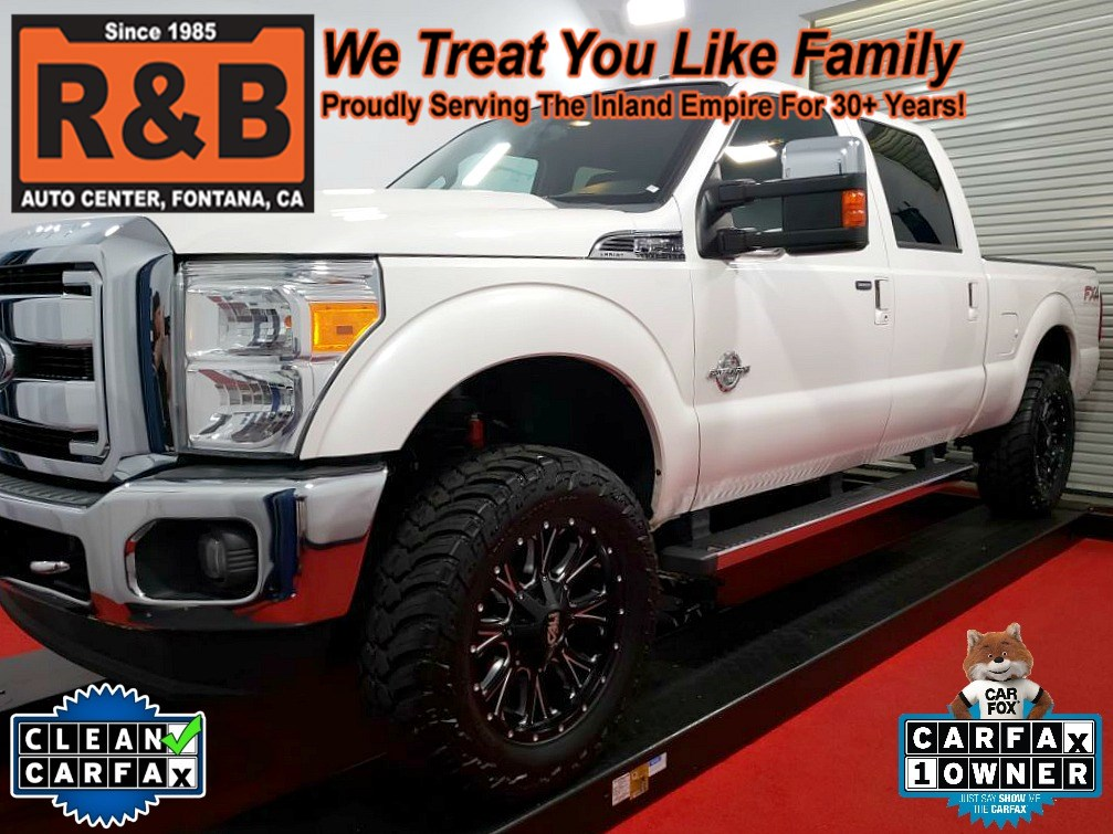 2014 Ford Super Duty F-250 Lifted 4x4 Diesel Lariat