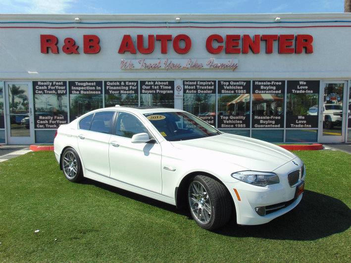Sold 2013 Bmw 5 Series 535i In Fontana