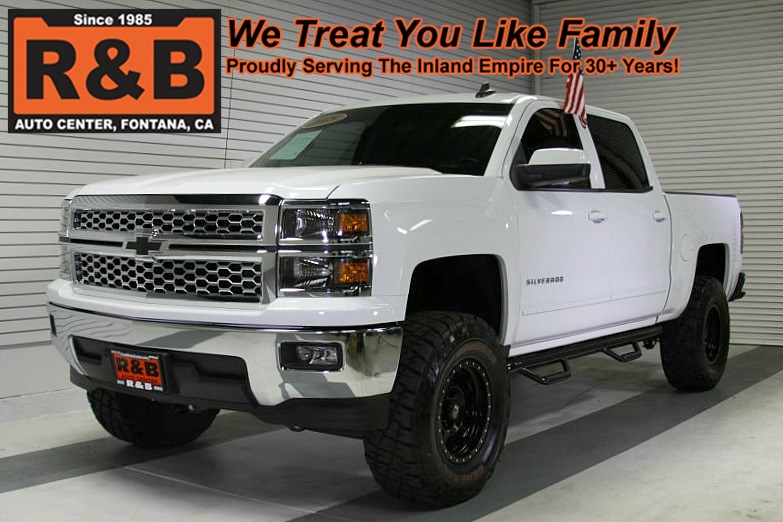 2015 Chevy Silverado Lifted >> 2015 Chevrolet Silverado 1500 Lifted Lt Rwd R B Auto Center