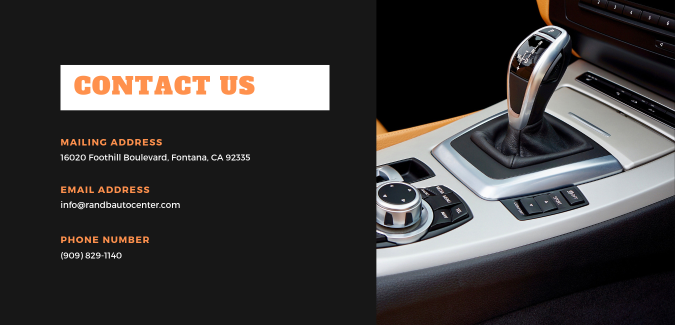 R&B Auto Center | Inland Empire Used Car Dealer | Used Cars in Fontana