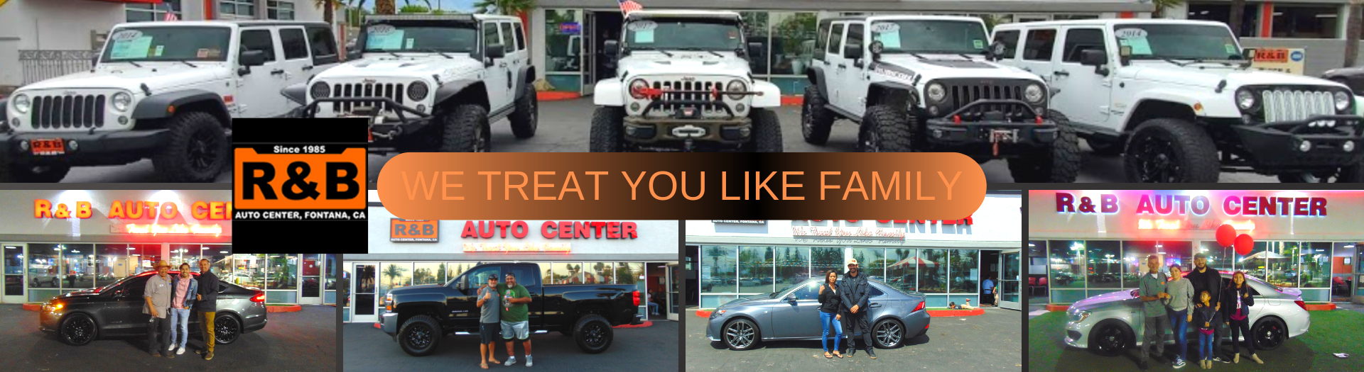R&B Auto Center | Inland Empire Used Car Dealer | Used Cars