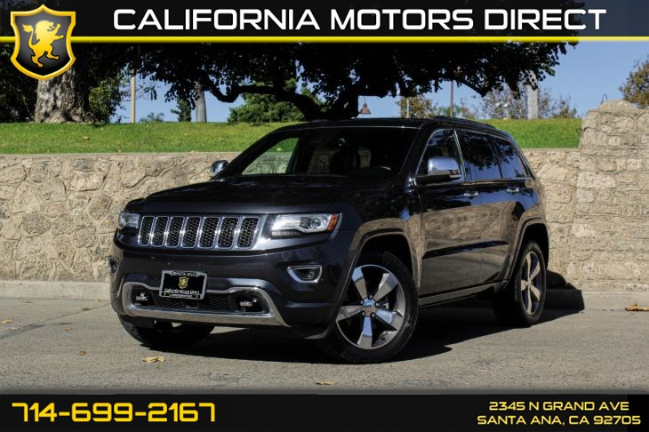 2014 Jeep Grand Cherokee Overland ecoDIESEL 4x2