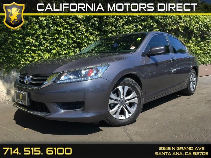 Sold Honda Accord Sedan LX In Santa Ana - 2014 honda accord lx invoice price