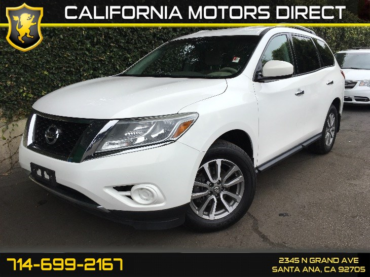 Sold 2013 Nissan Pathfinder Sv In Santa Ana