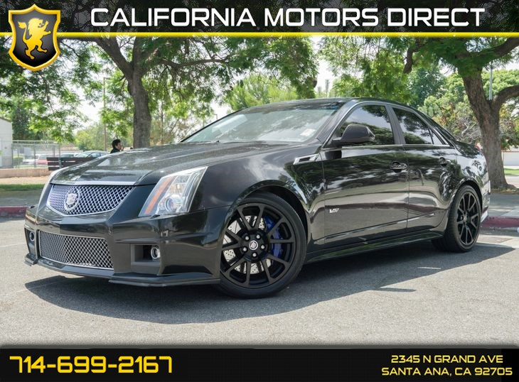 Used 2012 Cadillac Cts V Sedan In Santa Ana