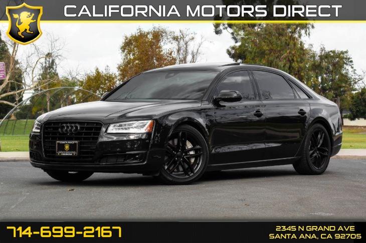 2015 Audi A8 L 4 0T quattro - California Motors Direct1