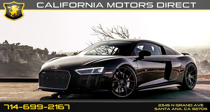 Used 2017 Audi R8 Coupe V10 Plus In Santa Ana