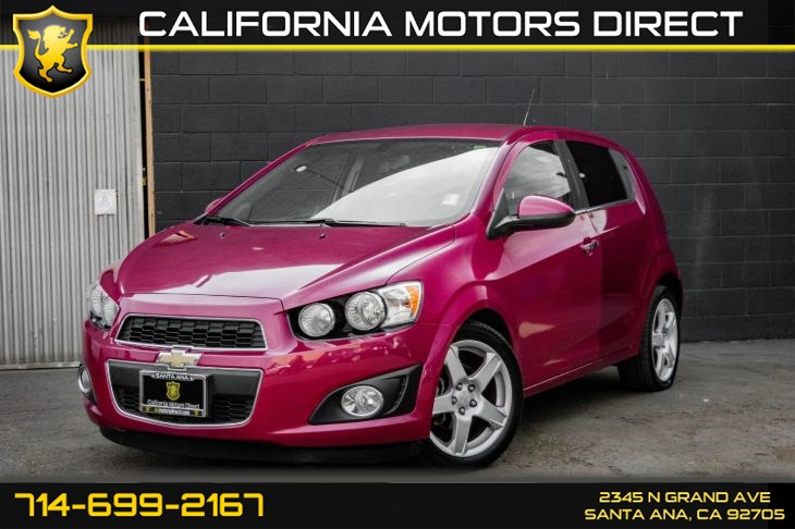 2014 Chevrolet Sonic Ltz Auto California Motors Direct1