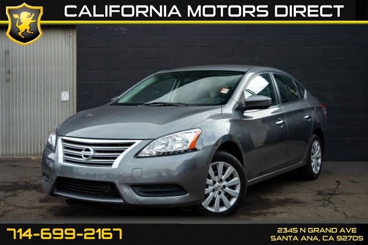 "2015 Nissan Sentra S (Keyless Entry & 16"" Wheels)"