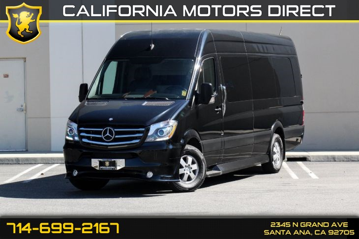 "2015 Mercedes-Benz Sprinter Cargo Vans 2500 170 WB ""Custom Conversion"" (Turbocharged)"