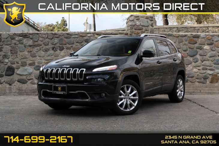 2014 Jeep Cherokee Limited (Panoramic Roof/WiFi Hotspot)