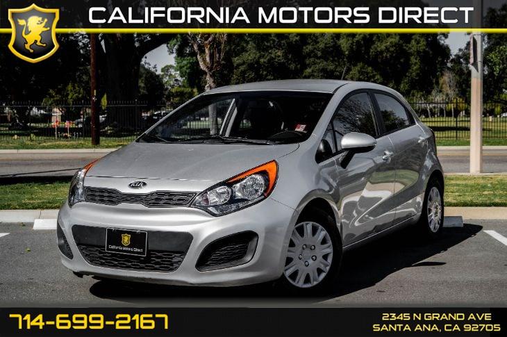Sold 2014 Kia Rio Lx In Santa Ana